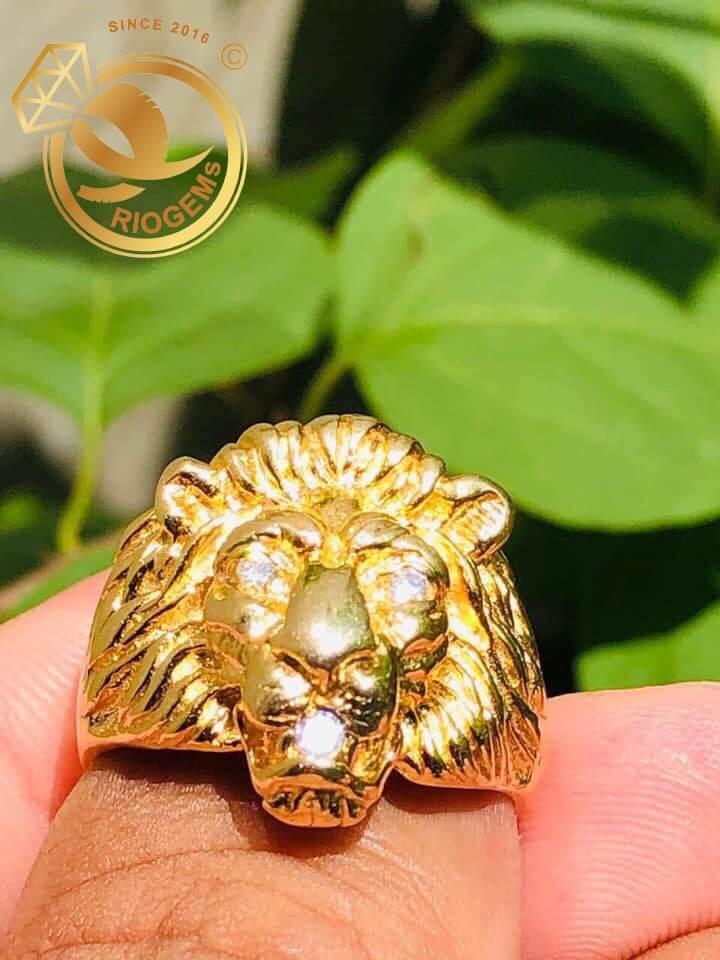 Nhẫn đầu Sư Tử phong thủy