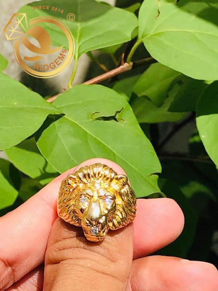 Nhẫn đầu Sư Tử quyền lực