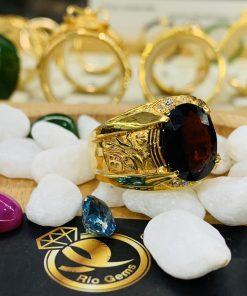 Nhẫn nam chữ LỘC vàng siêu chất