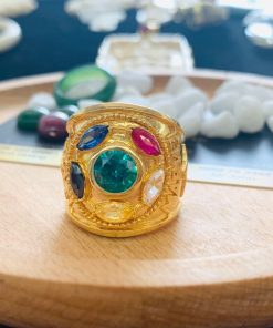 Nhẫn nam vàng THANOS bắt mắt