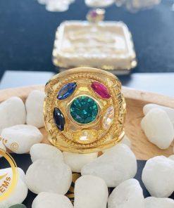 Nhẫn nam vàng THANOS marvel