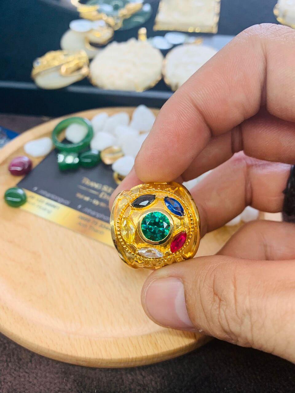 Nhẫn nam vàng THANOS siêu chất