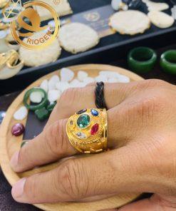 Nhẫn nam vàng THANOS độc đáo