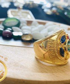 Nhẫn nam vàng THANOS thời trang