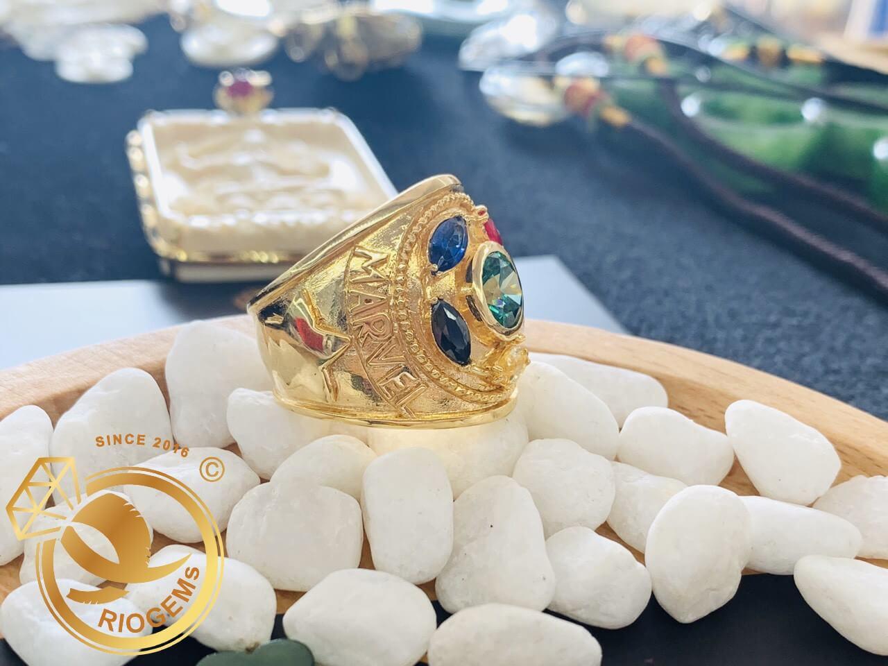 mua nhẫn nam vàng THANOS