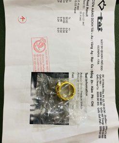Nhẫn Rồng Phụng tranh ngọc Sapphire đen giá trị có giấy chứng nhận