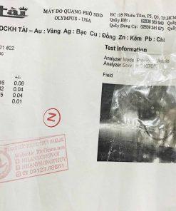 Dây chuyền chữ LỘC hợp mệnh có giấy chứng nhận