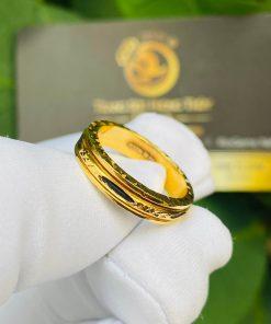 Nhẫn Lông Voi xoay phong thủy