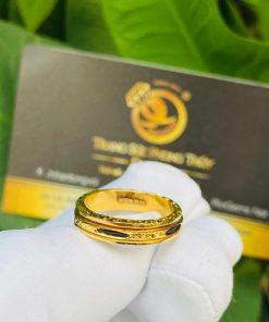 Nhẫn Lông Voi xoay luồng 1 sợi Lông Voi thiết kế bởi Riogems