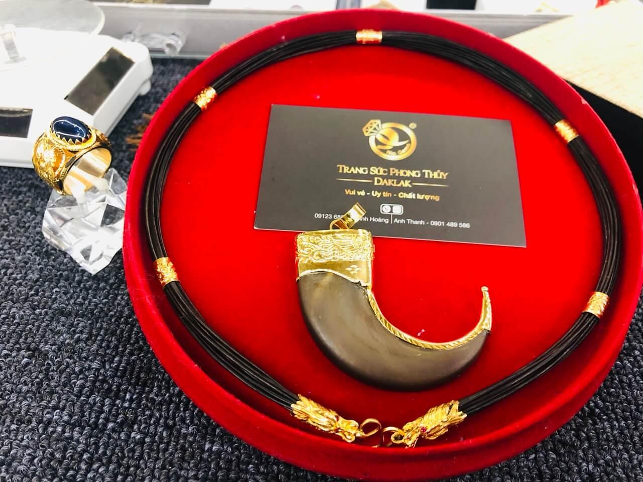 Dây chuyền lông voi (cỡ vừa) đẹp