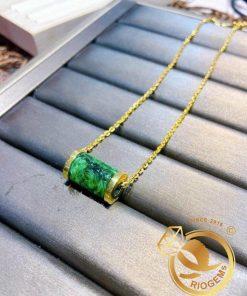 Lắc tay đốt ngọc Jade vàng giá trị