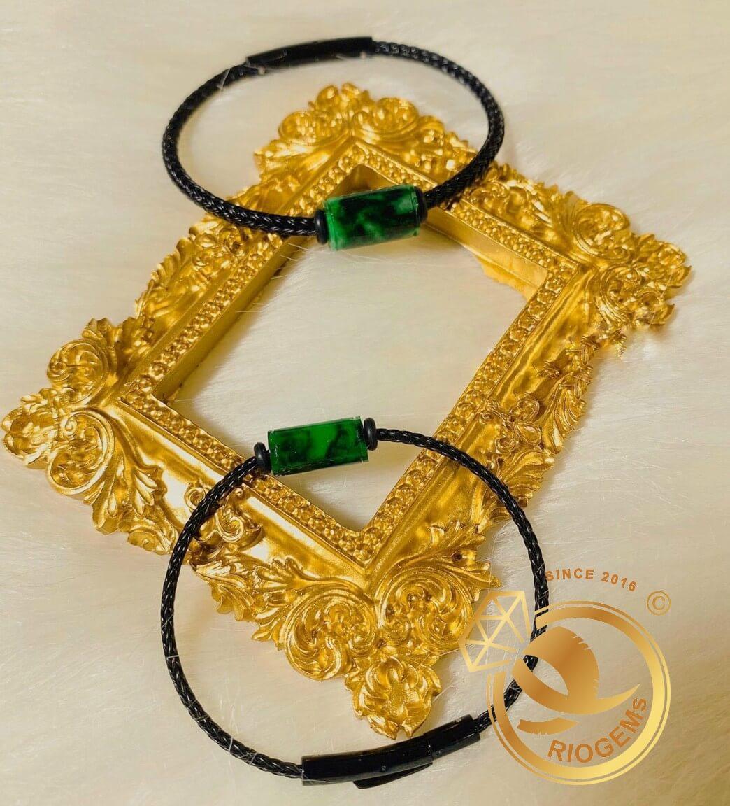 Lắc tay đốt ngọc Jade vàng chất lượng và sang trọng