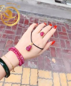 Lắc tay - nhẫn hồ ly đẹp và sang trọng