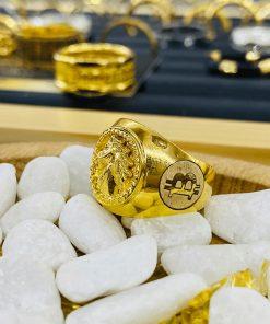 nhan-ngua-3D-2-bitcoin-vang