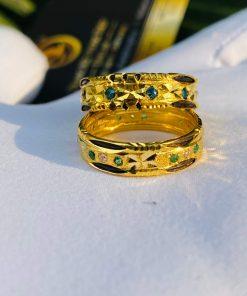Cặp nhẫn cưới nam nữ phong thủy tượng trưng cho tình yêu vĩnh hằng