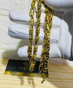 Dây chuyền mắc xích 6li vàng phong thủy may mắn