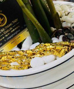 Dây chuyền mắc xích 6li vàng phong thủy ấn tượng