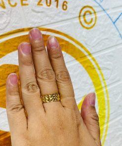 nhẫn kim tiền vàng phong thủy