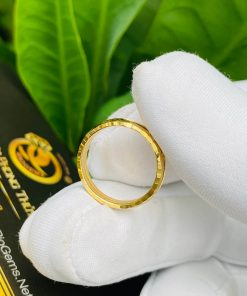 Nhẫn đơn lông phù hợp cho cả nam và nữ