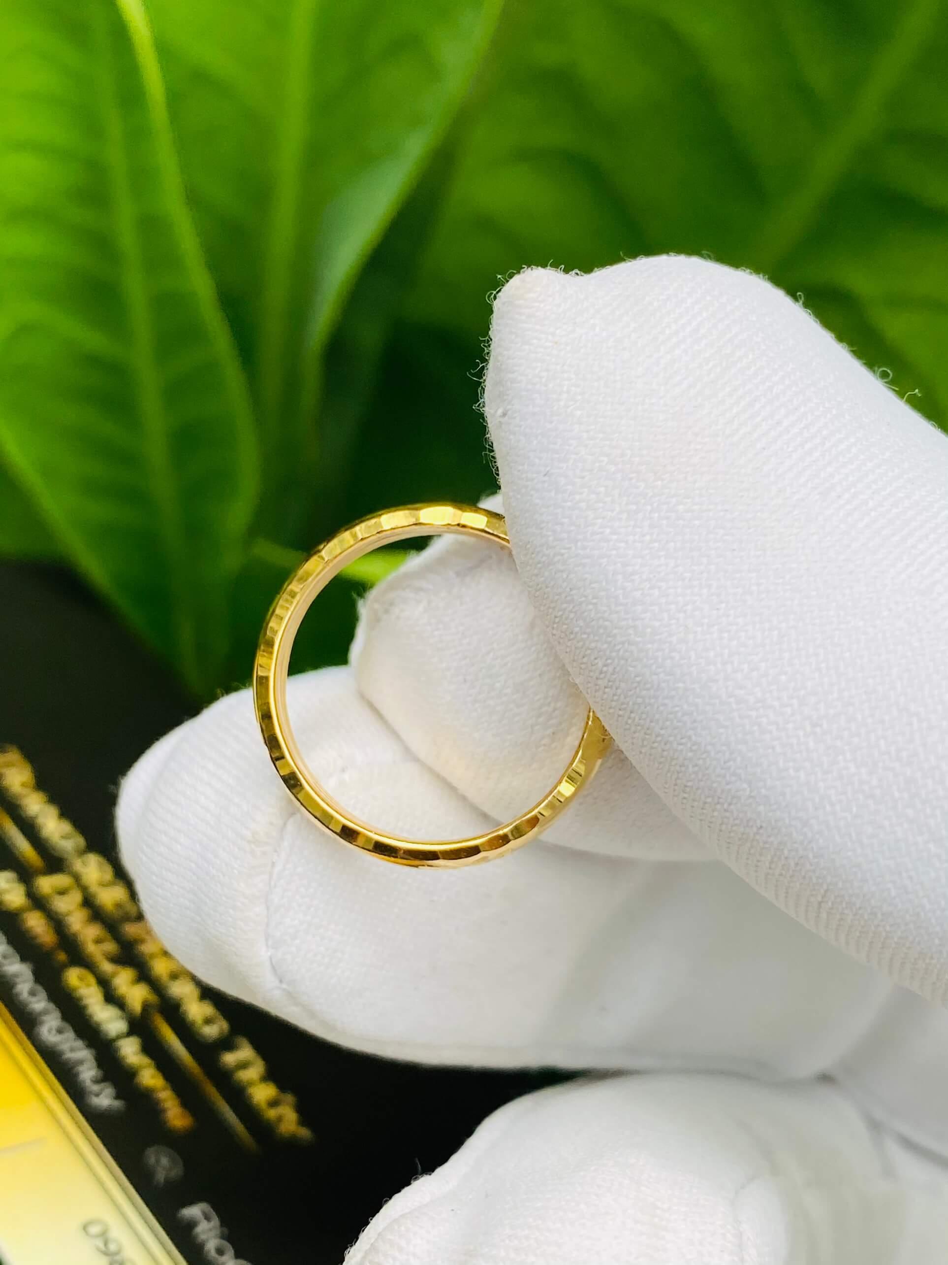 kích thước nhẫn vừa cho nam và nữ