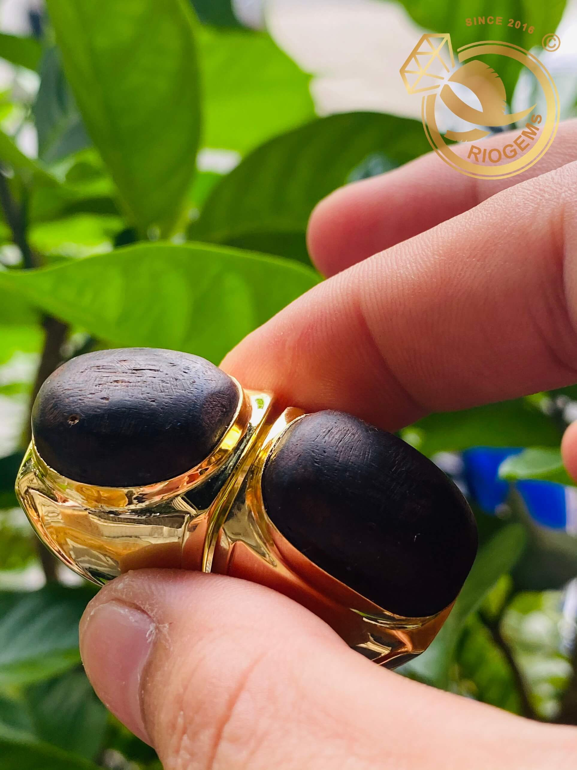 Nhẫn nam vàng 18k Riogems - Món quà V.I.P dành cho phái mạnh