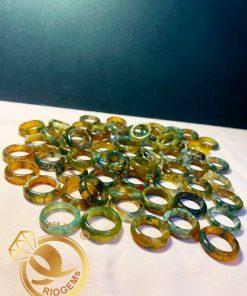 Nhẫn ngọc thủy tảo độc đáo