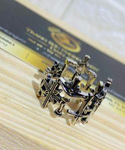 Nhẫn Thánh Giá bạc Thái sở hữu vẻ đẹp sang trọng và tôn nghiêm