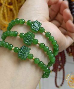 Vòng đeo tay đá ngọc bích đẹp