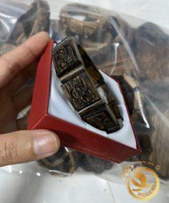 Vòng tay trầm hương khắc Phúc Lộc Thọ