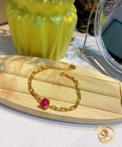 Lắc tay vàng hồ ly tăng đường tình duyên cho phái đẹp