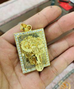 Trâu vàng đúc 3D nguyên khối đầy tinh xảo