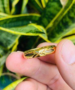 Nhẫn vàng trơn 18k