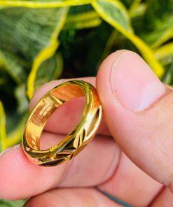 Nhẫn vàng trơn nam 1 chỉ tại RIOGEMs