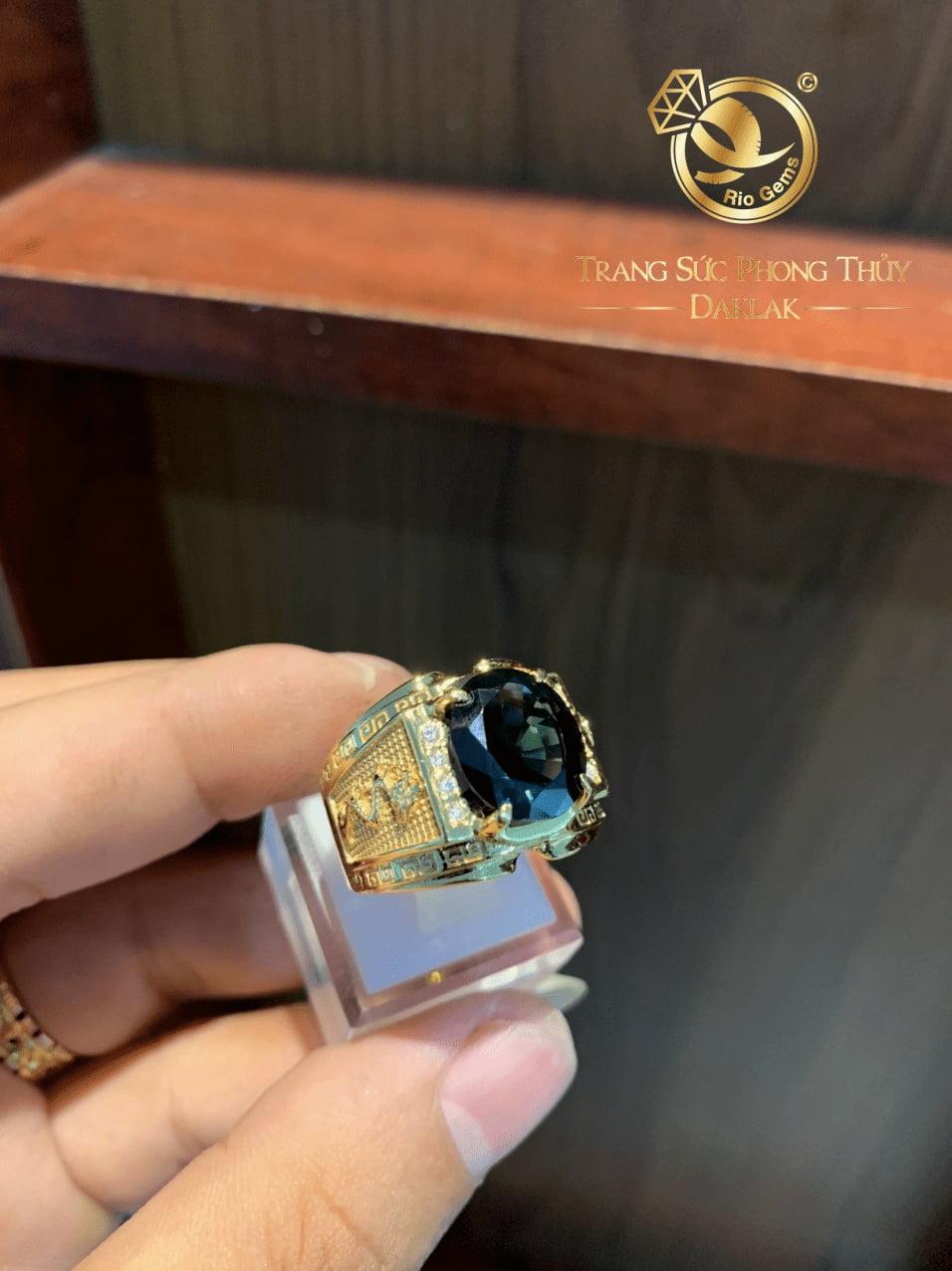 nhẫn đeo ngón trỏ nam đẹp