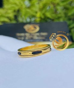 nhẫn lông voi vàng nữ