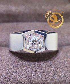 Nhẫn kim cương nam