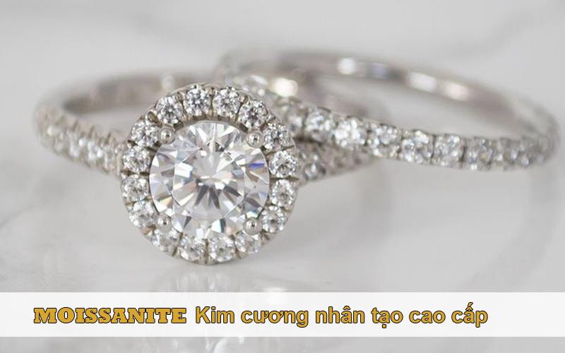Moissanite là dòng kim cương nhân tạo cao cấp