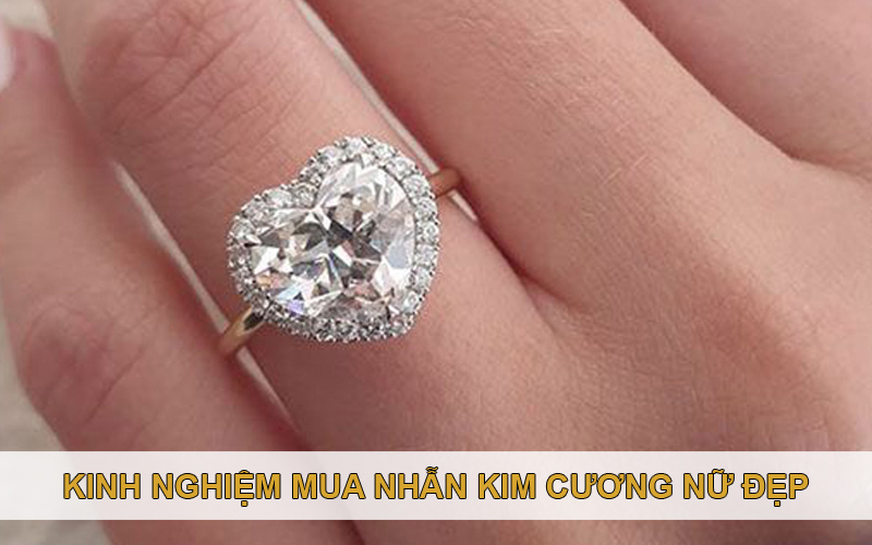 Mẫu nhẫn kim cương nữ đẹp