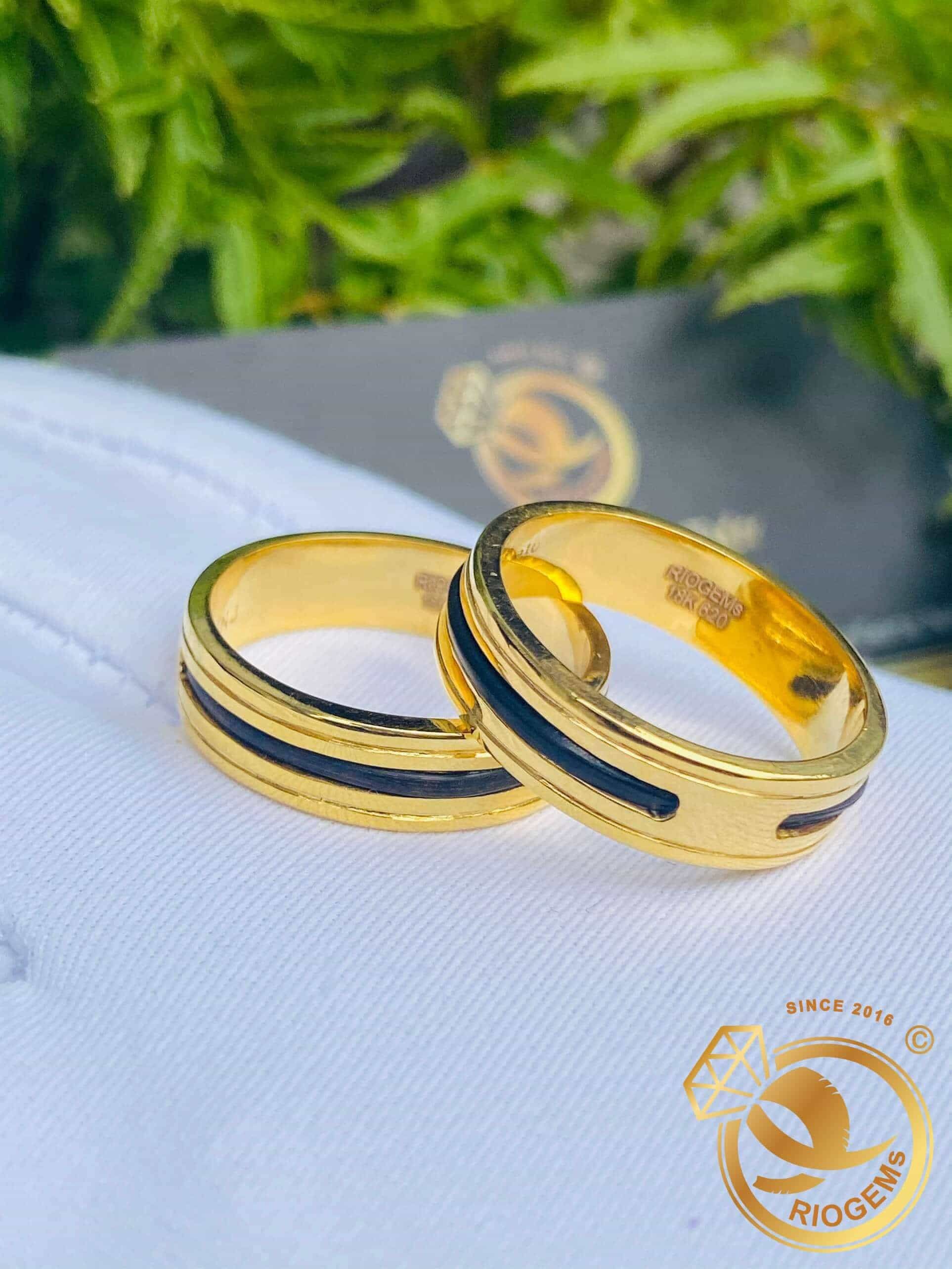 Nhẫn vàng 18K lông đuôi voi