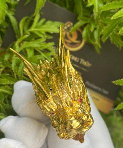 Nhẫn vàng đầu Rồng
