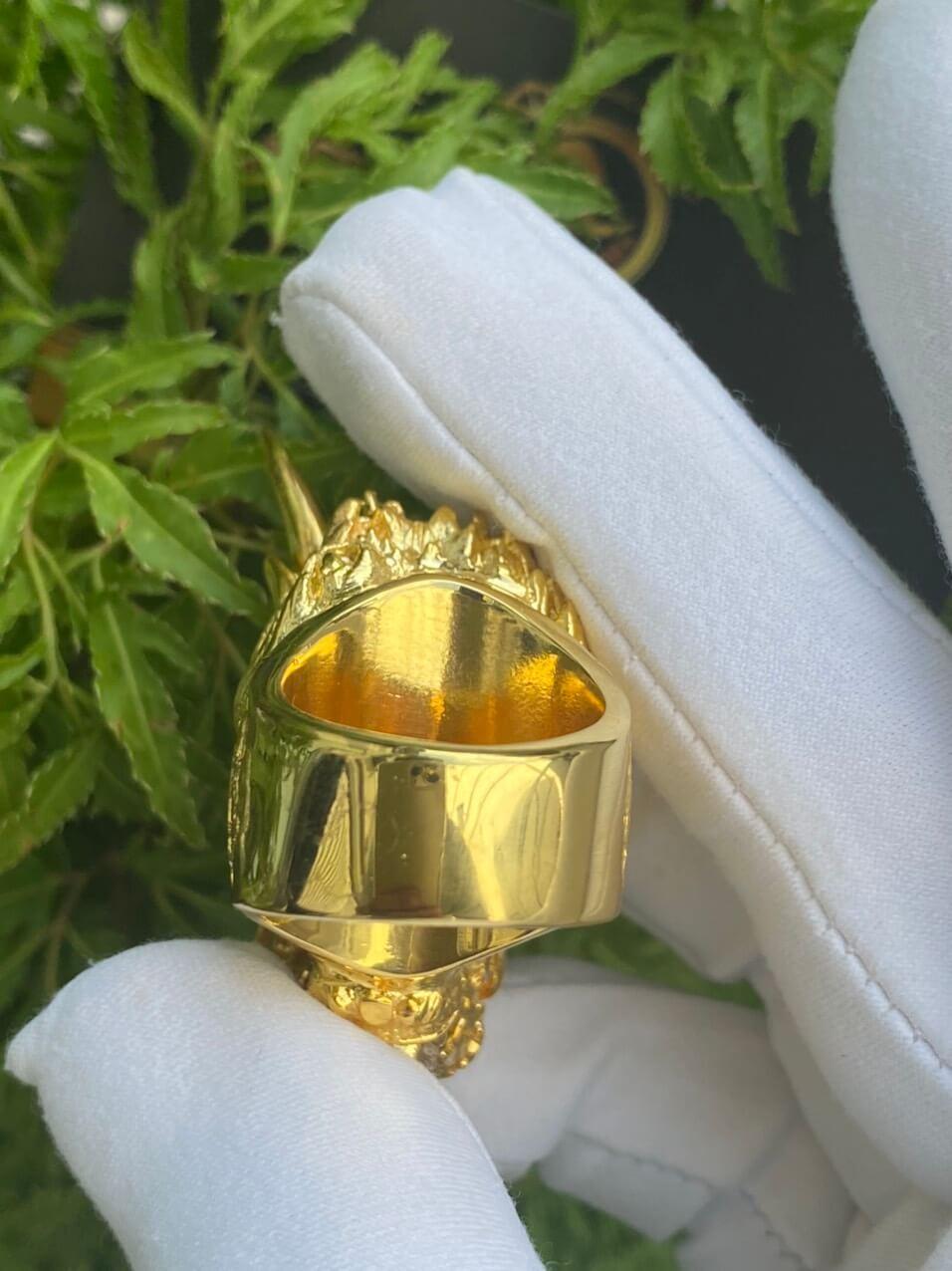Nhẫn đầu rồng Phú Lê